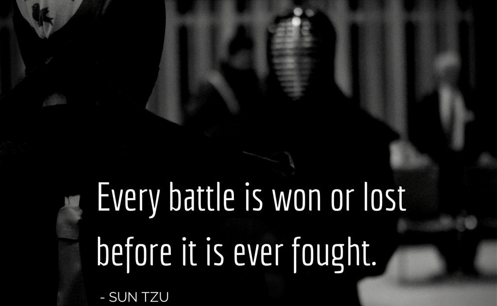 Sun Tzu on Preparation