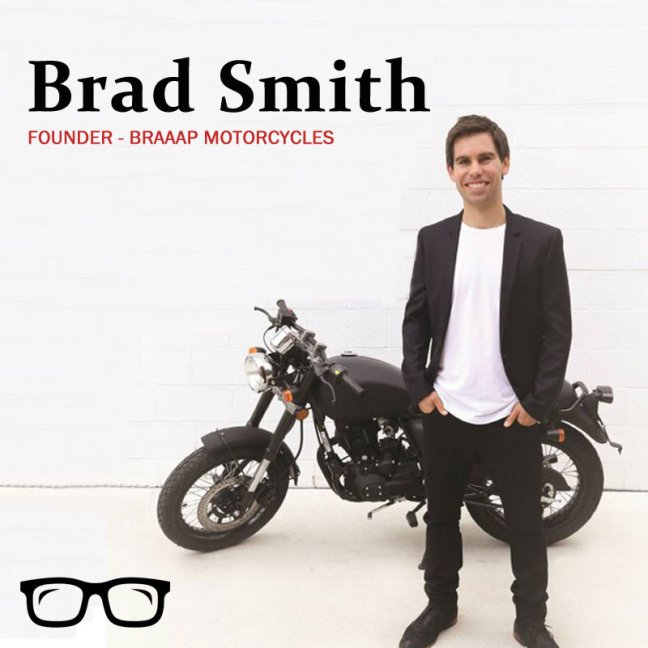 Brad Smith - Founder of Braaap Motorcycles