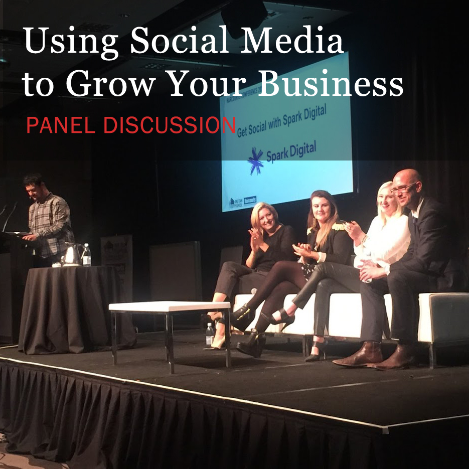 Panelists discuss using social media to grow your business